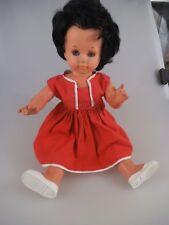Schildkröt Puppe 40cm Celluloid Gummikopf 70er Jahre (2354)