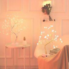 LED Night Light Mini Christmas Tree Copper Wire Garland Lamp