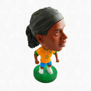 Ronaldinho Soccer Player Figurine FC Barcelona Toys For Collection