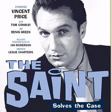 The Saint staring Vincent Price OTR 91 Episodes in MP3 on CD