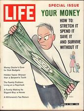Life Magazine April 6 1962 Birthday Your Money VG 051816DBE