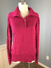 Talbots Pink Sweater Excellent Career Casual L Cotton