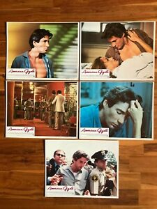 5 Original Lobby Cards 11x14: American Gigolo (1980) Richard Gere, Lauren Hutton