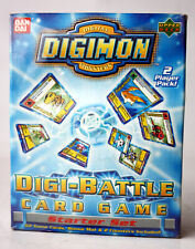 DIGIMON DIGI-BATTLE CARD GAME STARTER SET BANDAI UPPER DECK NEW SEALED !