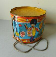 Vintage Chad Valley Tin Drum Play Worn