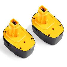 2 New 14.4V Battery for DEWALT DC9091 DW9091 DW9094 14.4 Volt Power Tool
