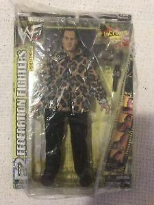 "THE ROCK WWF JAKKS F2 Federation Fighters Series 2 WrestleMania 12"" Figure"