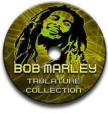 BOB MARLEY REGGAE GUITAR TABS TABLATURE SONG BOOK ANTHOLOGY SOFTWARE CD