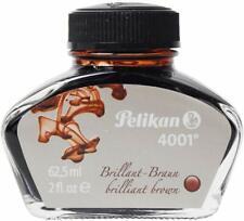 Pelikan 4001 Fountain Pen Ink Bottle, 62.5ml - Brilliant Brown