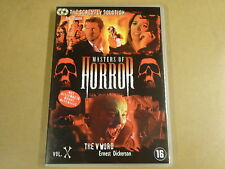 2-DISC DVD / MASTERS OF HORROR - VOL. X ( JOE DANTE, ERNEST DICKERSON... )