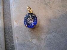 Vintage U. S. Air Force Emblem etched intaglio pendant