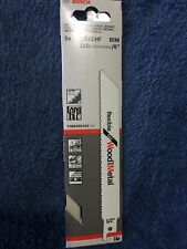 Genuine Bosch S922HF Reciprocating Saw Blades, Pack Of 5.