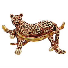 Fashion Vintage Leopard Brooch Pin Collar Decoration Badge Corsage Jewelry G_ZH