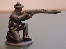 ALUMINIUM ancien MARIN tirant au fusil