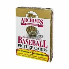1991 Topps Archives The Ultimate 1953 Set Baseball Picture Cards