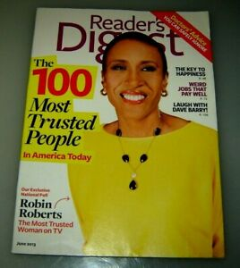 2 Reader's Digest magazines May 2013 and June 2013