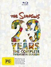 The Simpsons : Season 20 (Blu-ray, 2010, 4-Disc Set)