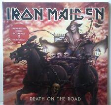 Iron Maiden Death on the Road 2LP RU Photodisc en couleur
