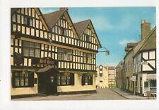 Bell Hotel Tewkesbury Old Postcard 212a
