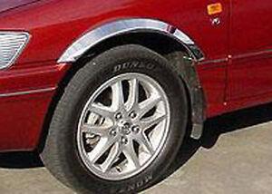 Lexus GS300 Chrome Wheel Arch Moulds Fendertrim (from 1993)