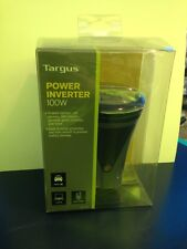 Targus 100W Auto Power Inverter Cupholder Style DC to AC 1 USB 1 PPS Port New