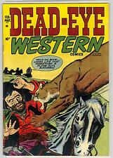 1953 DEAD EYE WESTERN COMIC BOOK # 12 7.0 RARE WOW GOLDEN AGE