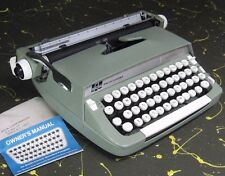 Smith-Corona Sterling Portable Typewriter  w/ Owner's Manual
