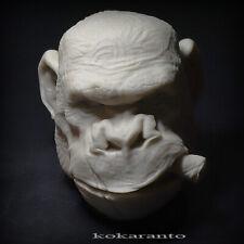 1/6 scale monkey head sculpt animal  unpainted
