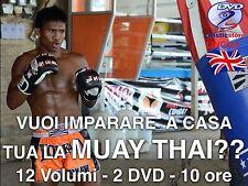 Corso Muay Thai Course (12 Volumi) (2DVD) (Oltre 10 ore video) Novità 2017
