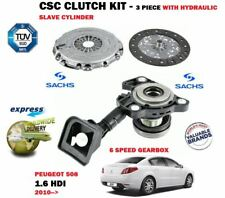FOR PEUGEOT 508 1.6 HDI 6 SPEED 2010-> CSC CLUTCH KIT + HYDRAULIC SLAVE CYLINDER