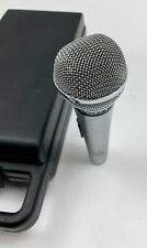 Vintage Shure PE588 Unisphere B Dynamic Microphone with case