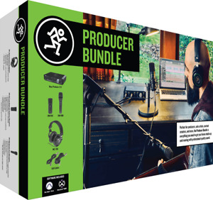 Pack Onyx-Producer, 2 micros, casque MACKIE PRODUCER-BUNDLE