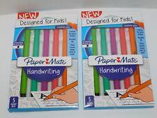 Paper Mate Handwriting Marker Pens Designed For Kids TWO Packs Black Ink