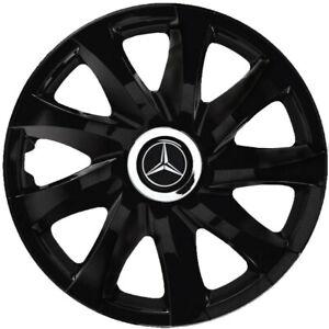 16'' Wheel trims for Mercedes Vito TAXI - black 4x16''