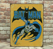 Batman Retro Metal Sign for Man Cave, Garage or Bar Made in America