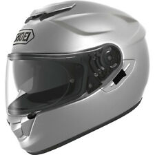 Shoei GT-Air Solid Full Face Street Motorcycle Helmet Light Silver Large