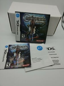 DS - Castlevania Order Of Ecclesia (Case Manual Inserts ONLY) *NO GAME/CART*