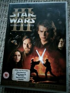 Star Wars Revenge of the Sith DVD Episode III 2-Disc Special Edition R2 Like NEW