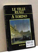 LE VILLE REALI A TORINO [Libro, Pubblicazione settimanale 1988]