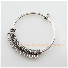 1 New Charms Tibetan Silver 1-9 Round Circle Pendants DIY Connectors 47x56mm