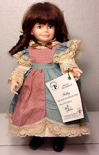 """1988 NIB 14"""" Robin Woods DOLL -Alcott Collection ~ Polly An Old Fashioned Girl"""