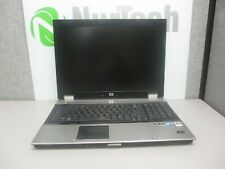 "HP EliteBook 8730w 17"" C2D-T9900 3.06GHz 4GB/160GB DVDRW Laptop ""NO BATTERY"" +AC"