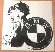 fun betty boop girls vinyl car sticker rear window side bumper graphic bonnet