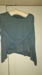 LURDES BERGADA asymmetrical cotton jumper S