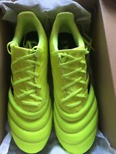 ADIDAS COPA Football Boots, worn for half an hour, size 12, yellow and black