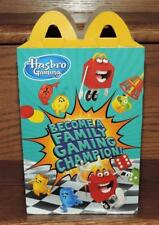"2018 LE ""HASBRO GAMING"" PROMO SERIES McDONALDS HAPPY MEAL BOX"