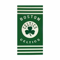 Northwest NBA Boston Celtics Basketball Stripes Beach Towel 30''x 60'' NEW