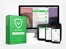 Adguard Premium - 3 Devices (PC/Mac/Android/IOS) LIFETIME & ORIGINAL LICENSE KEY