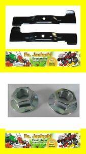 2 Messer für MTD 742-04020 742-04021 742-0660 742-065  Super Angebot !!!  50 €