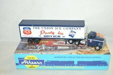 HO scale Athearn Kenworth tractor 40' trailer truck set UNION ICE